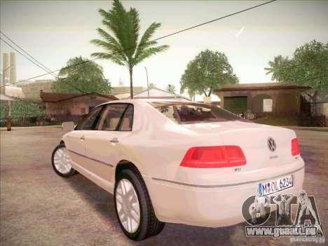 Volkswagen Phaeton 2011 pour GTA San Andreas laissé vue
