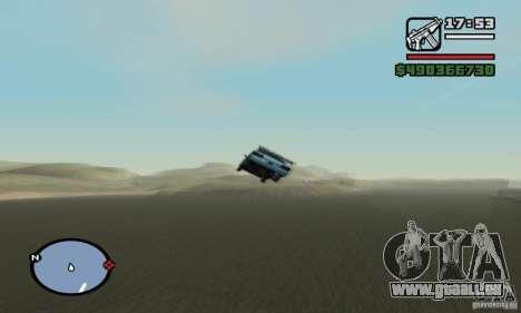 Le tremplin pour GTA San Andreas quatrième écran