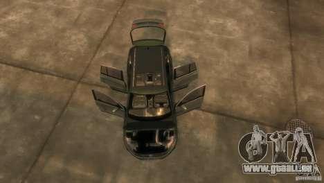 Volkswagen Tiguan für GTA 4 Innenansicht