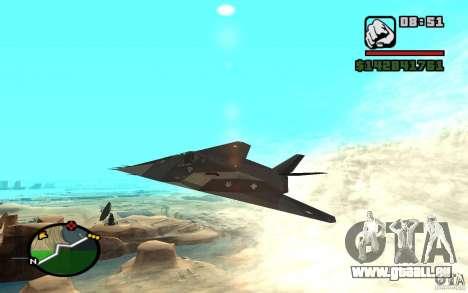Lockheed F-117A Nighthawk für GTA San Andreas
