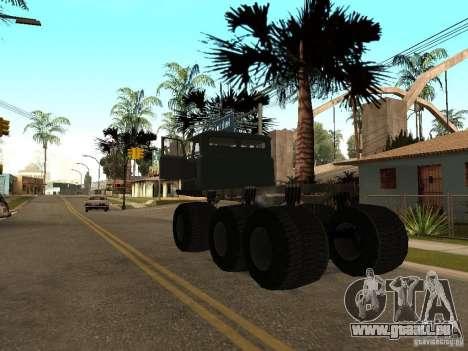 GAZ 66 Saiga pour GTA San Andreas vue de droite