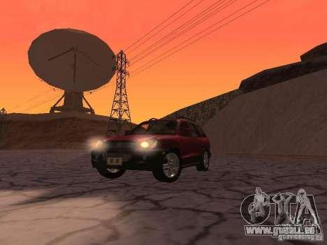 Hyundai Santa Fe Classic für GTA San Andreas Rückansicht