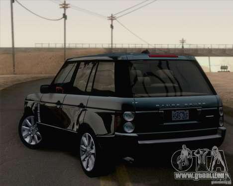Land Rover Range Rover Supercharged 2008 für GTA San Andreas linke Ansicht