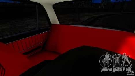 VAZ 2101 pour GTA 4 est une vue de l'intérieur