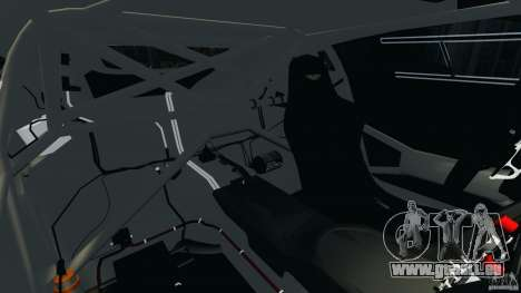 Aston Martin V12 Zagato 2011 v1.0 pour GTA 4 est une vue de l'intérieur