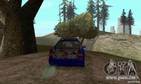 LADA 2170 JDM für GTA San Andreas Innenansicht