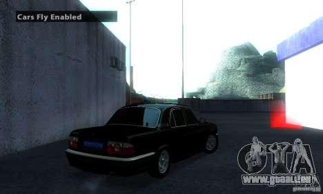 GAZ Volga 31105 Procureur pour GTA San Andreas sur la vue arrière gauche