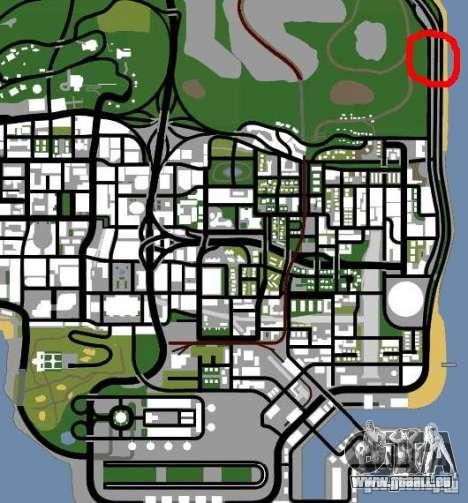 Polizeiposten 2 für GTA San Andreas fünften Screenshot