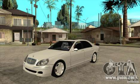 Mercedes Benz S600 pour GTA San Andreas