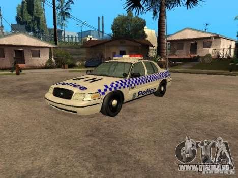 Ford Crown Victoria NSW Police für GTA San Andreas