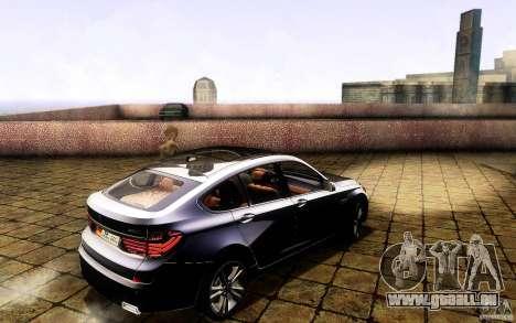 BMW 550i GranTurismo 2009 V1.0 für GTA San Andreas Innen
