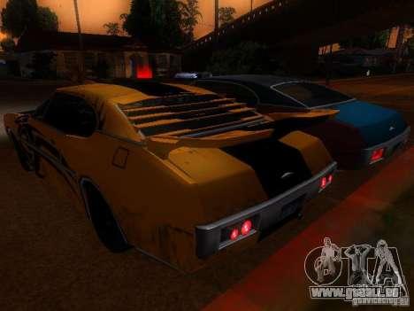 Clover Tuning pour GTA San Andreas sur la vue arrière gauche