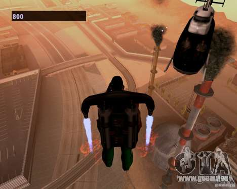 Pilotes des hélicoptères pour GTA San Andreas troisième écran