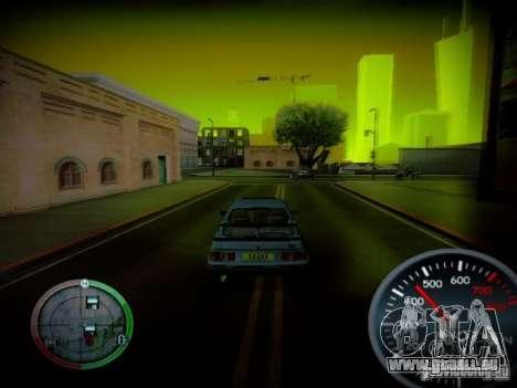 Tacho von Centrale v2 für GTA San Andreas dritten Screenshot