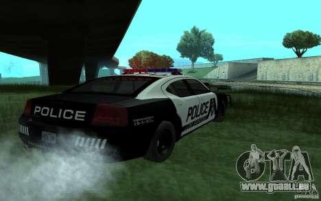 Dodge Charger Police für GTA San Andreas linke Ansicht