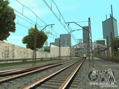 Réseau de contacts pour GTA San Andreas deuxième écran
