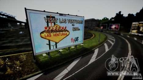 Realistic Airport Billboard für GTA 4 fünften Screenshot