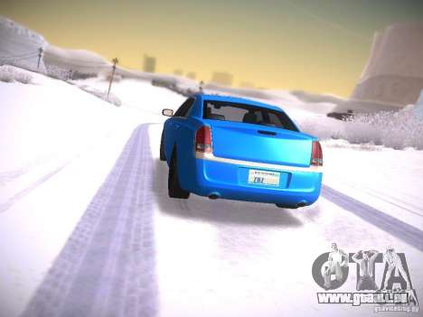 Chrysler 300C SRT8 2011 für GTA San Andreas linke Ansicht