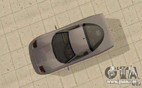 Coquette de GTA 4 pour GTA San Andreas vue de droite