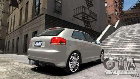 Audi S3 2006 v1.1 n'est pas tonirovanaâ pour GTA 4 est une gauche