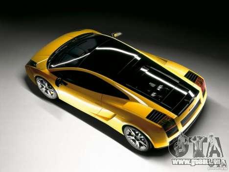 Lamborghini Loadscreens pour GTA San Andreas deuxième écran