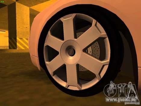 Audi S4 OEM pour GTA San Andreas vue de droite