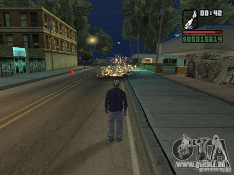 New Realistic Effects für GTA San Andreas her Screenshot