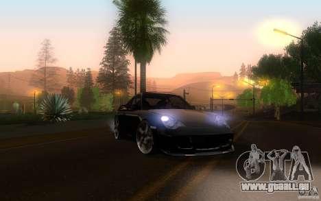 Ruf R-Turbo pour GTA San Andreas vue intérieure