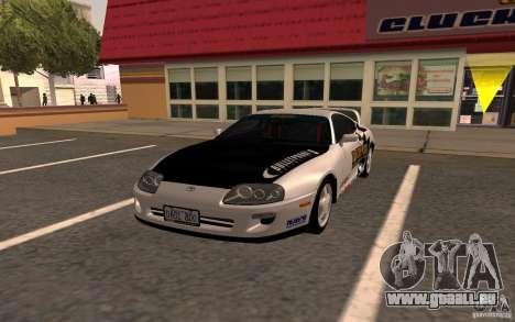 Toyota Supra RZ 1998 pour GTA San Andreas
