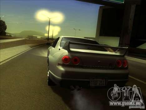 Nissan Skyline GTR BNR33 für GTA San Andreas rechten Ansicht