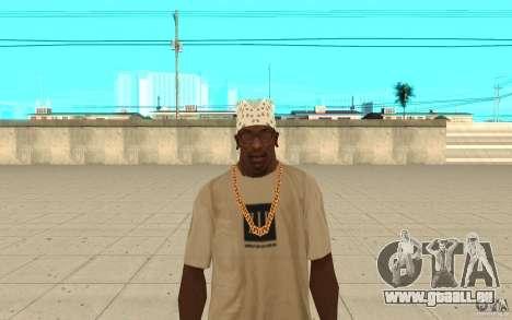 Bandana weiß für GTA San Andreas