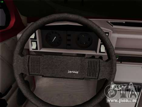 Zastava 128 pour GTA San Andreas vue de côté