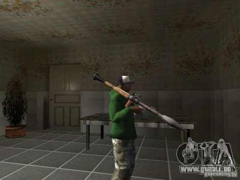 Pak intérieur armes V2 pour GTA San Andreas douzième écran