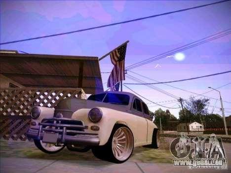 GAZ m 20 premiers 1956 pour GTA San Andreas