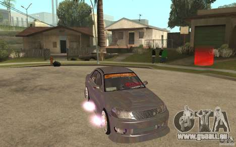 Toyota JZX110 Chaser V.I.P. Drifter pour GTA San Andreas vue arrière