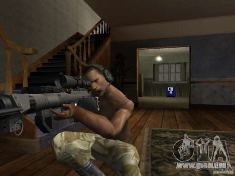 Chapeaux de Call of Duty 4: Modern Warfare pour GTA San Andreas sixième écran