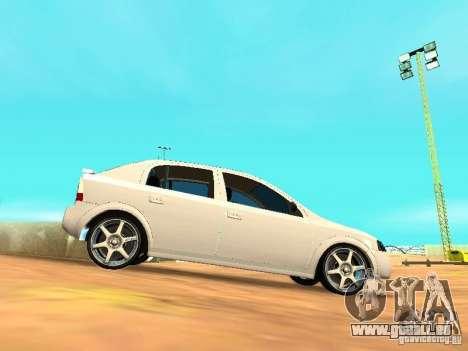 Chevrolet Astra Hatch 2010 für GTA San Andreas linke Ansicht
