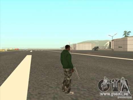 Se téléporter à un marqueur pour GTA San Andreas troisième écran