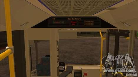 Design X3 pour GTA San Andreas vue de dessous