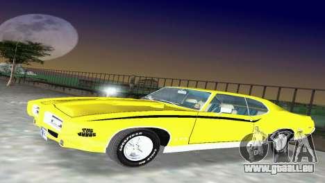 Pontiac GTO The Judge 1969 für GTA Vice City linke Ansicht