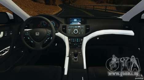 Honda Accord Type S 2008 pour GTA 4 Vue arrière
