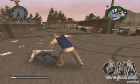 Botte clipart Bully Scholarship Edition pour GTA San Andreas troisième écran