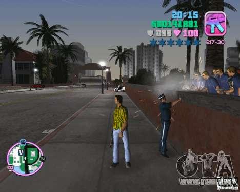 Hawaiihemd-Streifen. für GTA Vice City