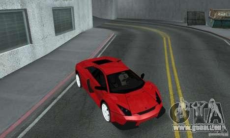 Lamborghini Murcielago Tuned pour GTA San Andreas vue intérieure