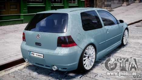 Volkswagen Golf IV R32 für GTA 4 Unteransicht