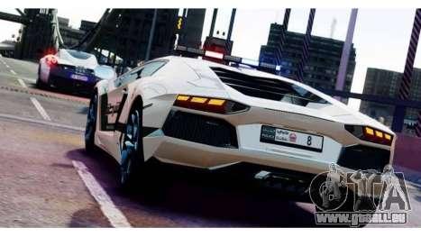 Lamborghini Aventador LP700-4 Dubai Police v1.0 pour GTA 4 est un droit