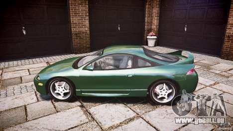 Mitsubishi Eclipse 1998 pour GTA 4 est une gauche