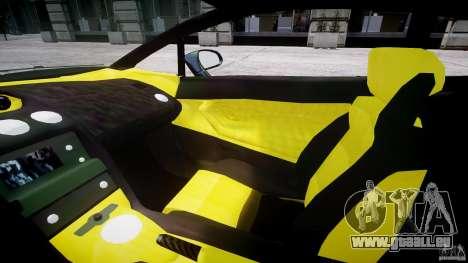Lamborghini Gallardo pour GTA 4 est une vue de l'intérieur