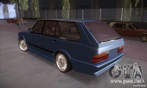 BMW E28 Touring pour GTA San Andreas vue de droite