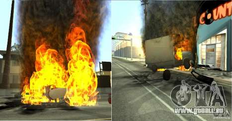Overdose Effects v 1.4 für GTA San Andreas fünften Screenshot